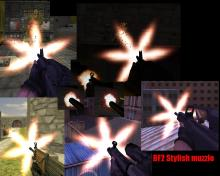 BF2 Stylish MuzzleFlash!!!
