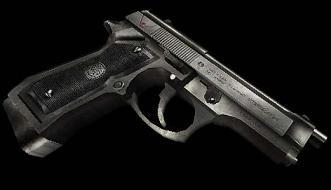 Silver Beretta USP