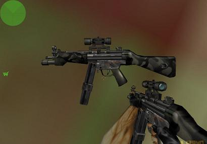 MP5 Army Green
