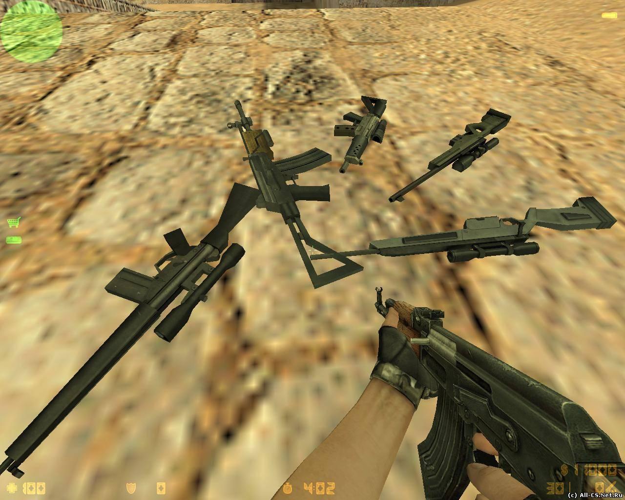 counter strike condition zero скачать скины оружие: