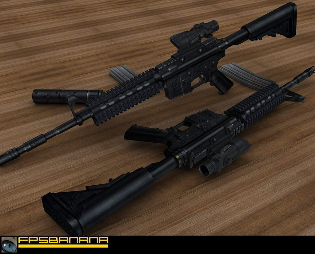 Colt M4A1 - Book's Anims