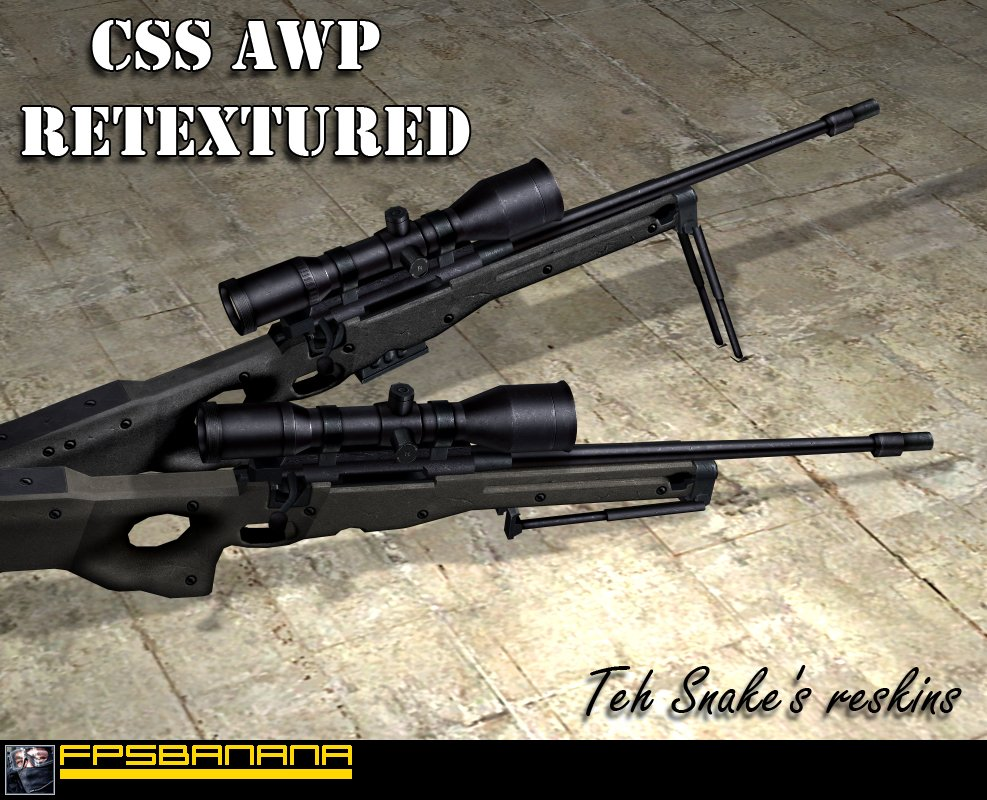 Default AWP retextured
