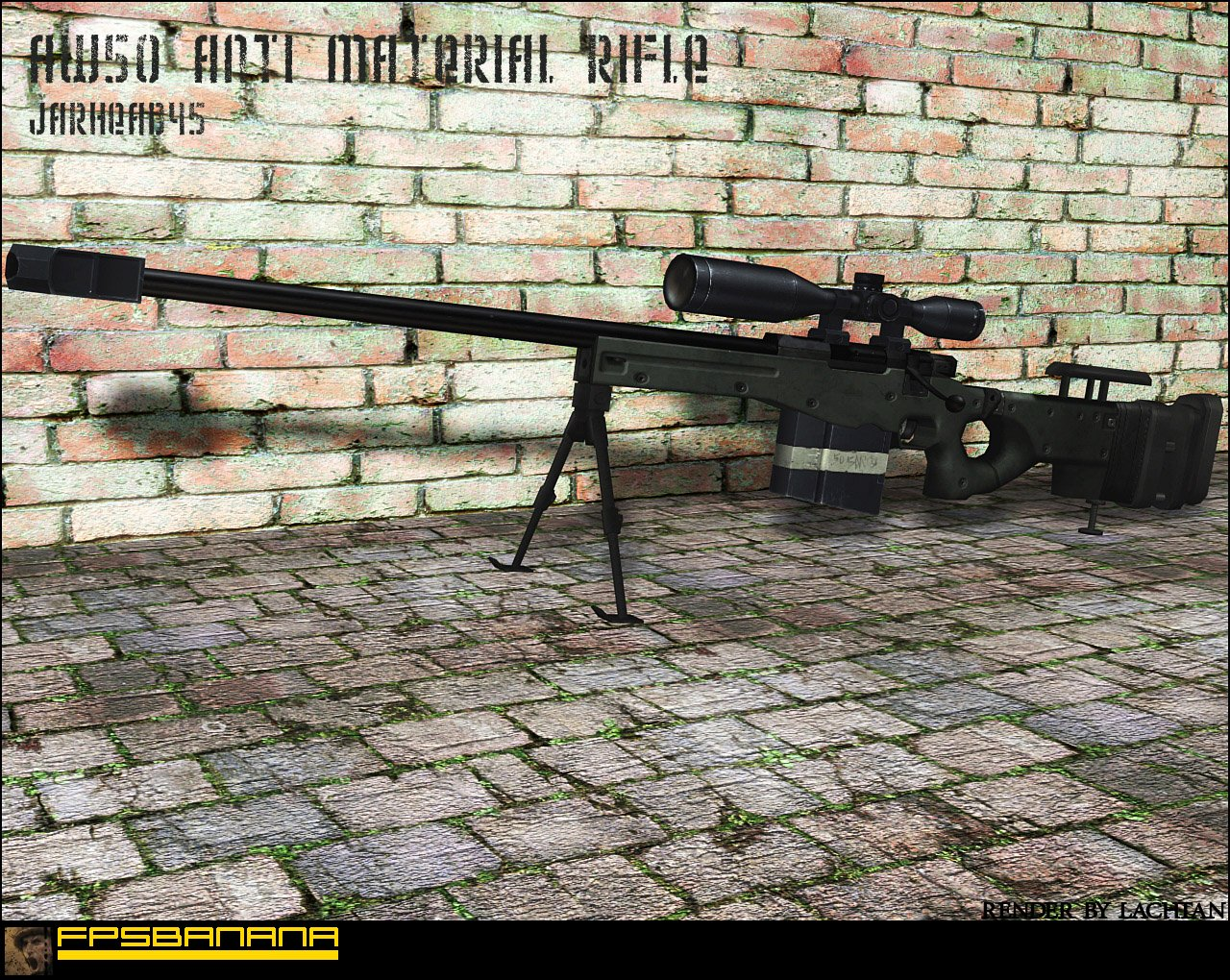 AW50 Anti Material Rifle
