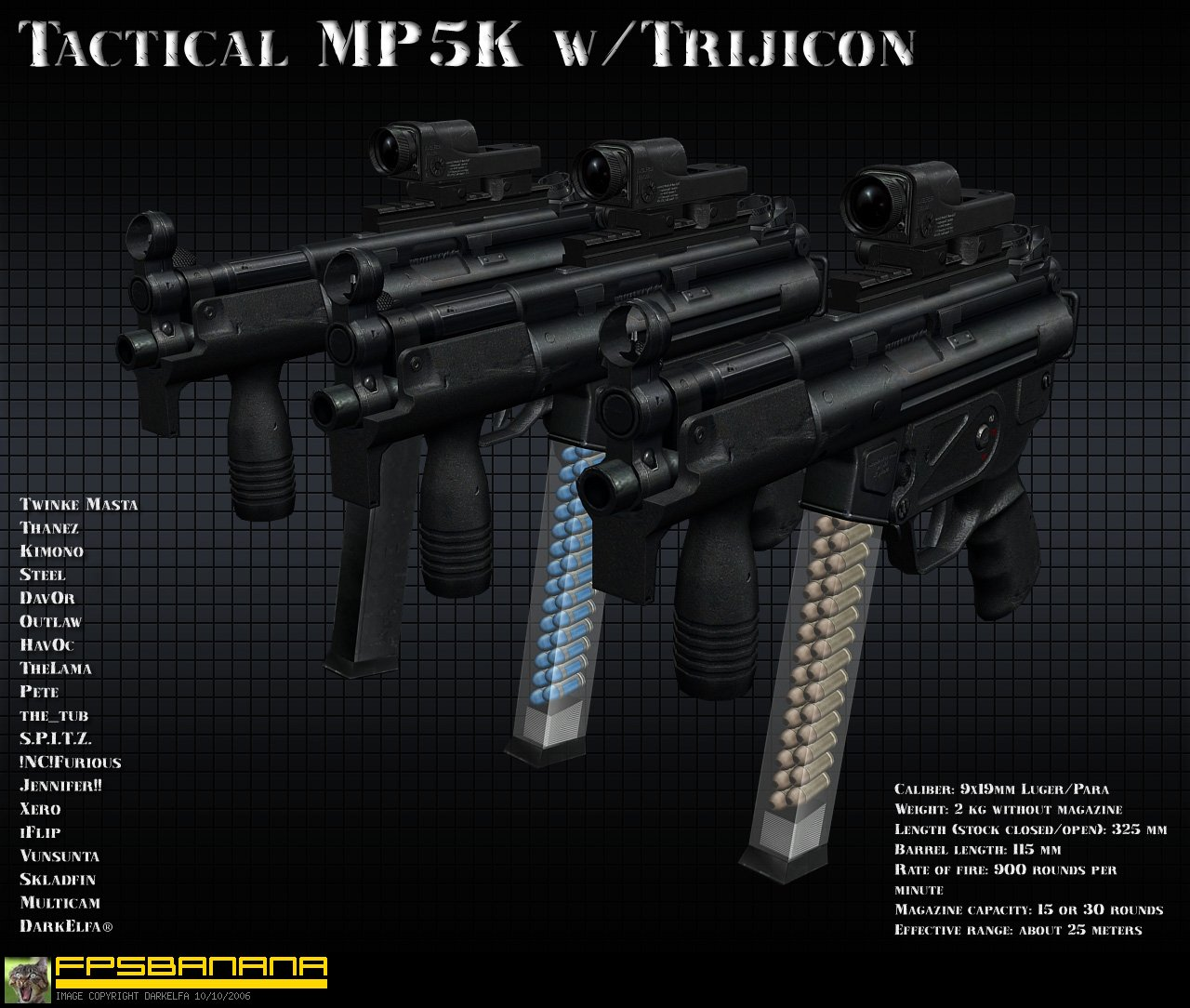 Tactical MP5K