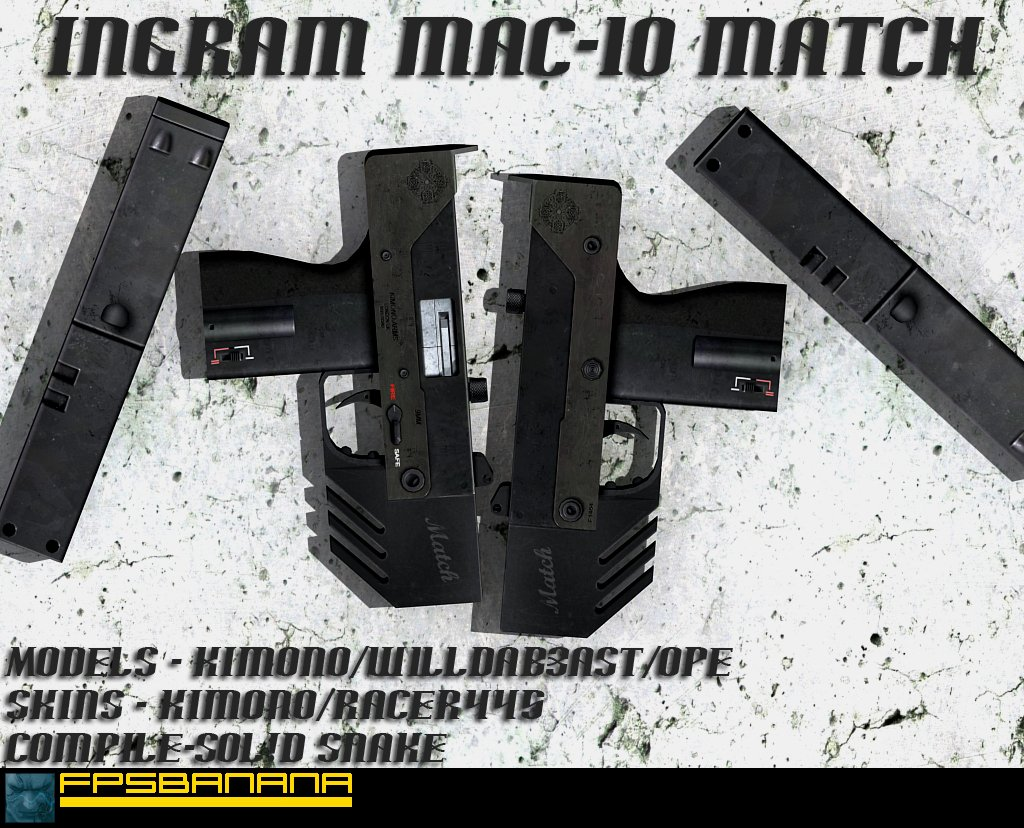 Ingram MAC-10 match ver. 1