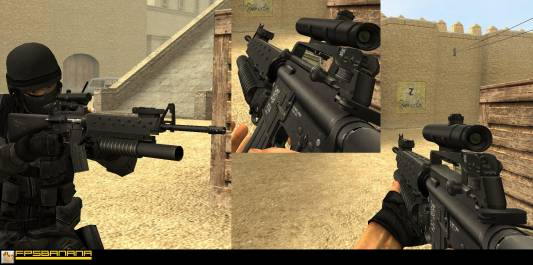 Addicted to M-Series Pack (Aug/m4a1/sg550) скриншот №1