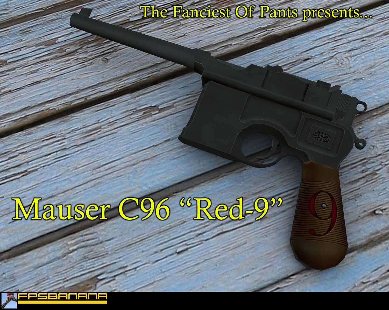 "Mauser C96 ""Red-9"""