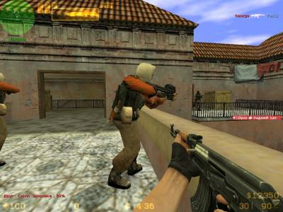 Counter-Strike 1.6 PLAYTEX (РУС \ 2016 \ Интернет) скриншот №1