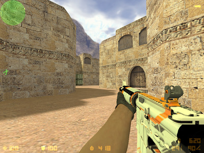Counter-Strike 1.6 Asiimov скриншот №1