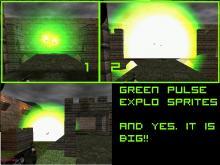 Green pulse explo sprite